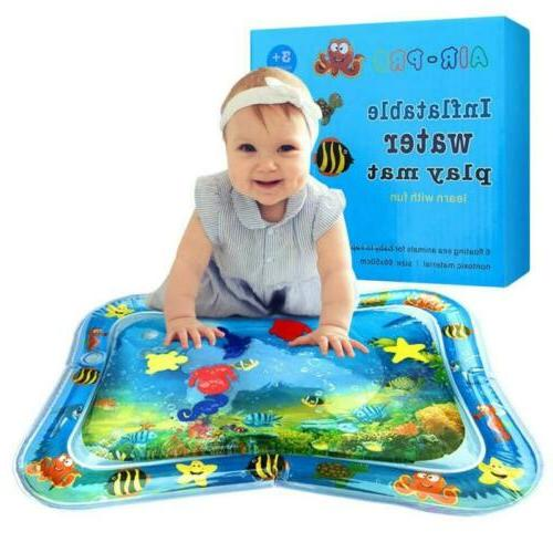 us inflatable baby water mat novelty play