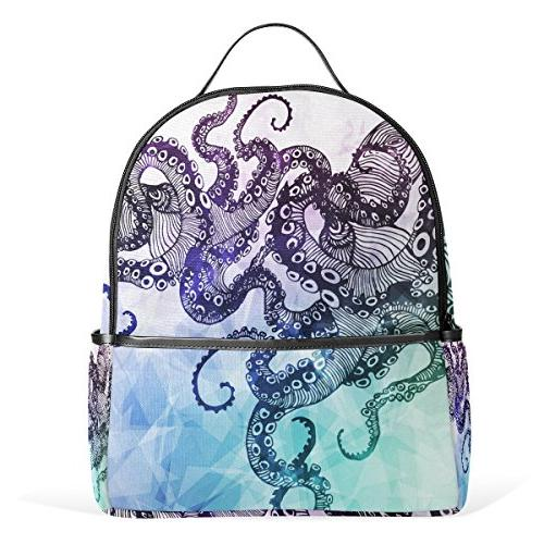 use4 abstract octopus hipster polyester
