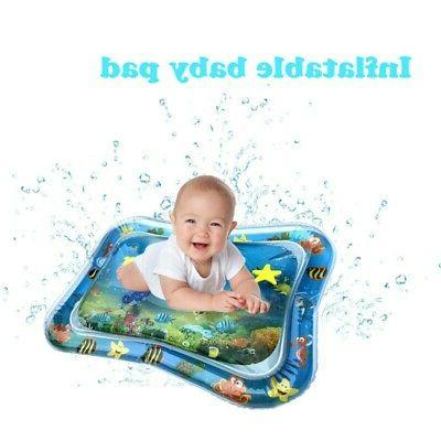 Water Play Mat for Infants Inflatable Tummy Time Mat