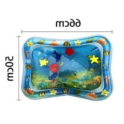 Water Infants Inflatable Toddlers Tummy Play Mat