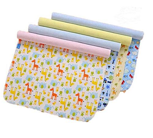waterproof bamboo cotton changing pads