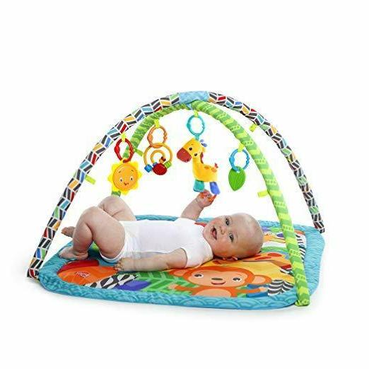 Bright Starts Zippy Activity Comfy Gym For Baby Easy To