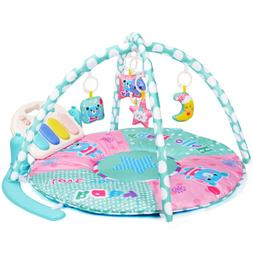 Amagoing Large Activity Gym Kick and Play Piano Tummy Time P