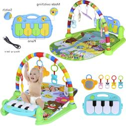 Baby Gym Floor Play Mat Activity Center Kick and Play Sit an