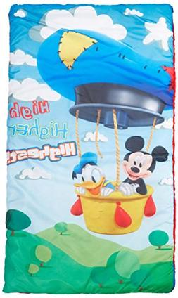 Disney Mickey Mouse Club House Mickey Play Slumberbag With B