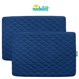 mini crib mattress pad cover fitted pack