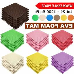 Multi-color Interlocking Gym Exercise Soft EVA Foam Floor Ma