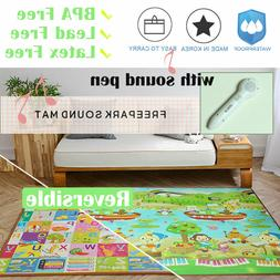 Musical Play Mat for Baby Toddlers Kids Waterproof Extra Lar
