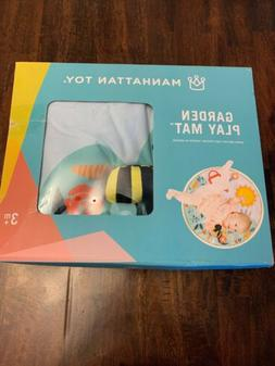 New! Manhattan Toy Company Garden Activity Play Mat For Baby