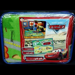 NEW Disney Pixar Cars Movie Play Rug Racetrack Mat 39x52 Bed