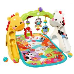 New Floor Gym Music Play Activity Padded Mat For Newborn to