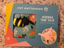 New Manhattan Toy Garden Activity Play Mat Bee Ladybug Bunny