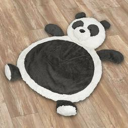 New Panda Bestever Soft Baby Play Mat Tummy Time Black and W