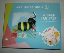 NIB Manhattan Toy Garden Activity Play Mat w/Plush Character