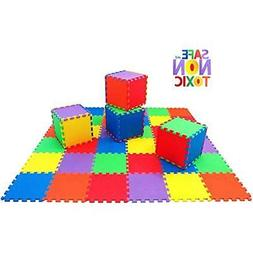 Non-Toxic 36 Puzzle Play Mats Piece, 10mm Children & Exercis