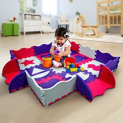 Wee Giggles Non-Toxic Baby Play Mat for Infants