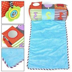 Non-Toxic Baby Playmat Large Folding Crawling Mat with Ring