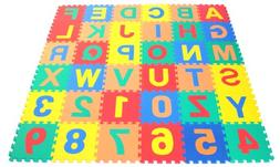 Wonder Mat Non-Toxic Non-Recycled Alphabet Letters and Count