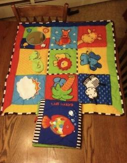 Ocean Pals Play Mat with touch and feel book RTL $60