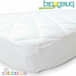 Pack N Play Crib Mattress Pad Cover Fits and or Mini Portabl