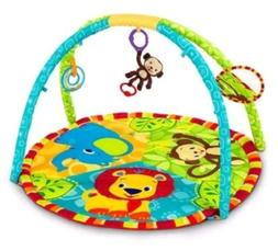 Bright Starts Pal Around Jungle Baby Activity Play Gym Mat D