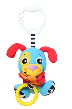 Playgro Peek-A-Boo Wiggling Baby Toy, Dog