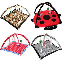Pet Cat Play Bed Activity Tent Playing Toy Exercise Kitten P