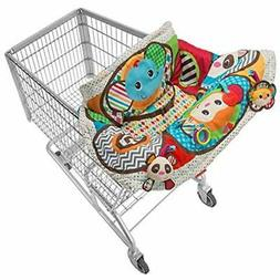 play and away cart cover mat baby