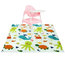 play dining 110cm pad whale anti skid