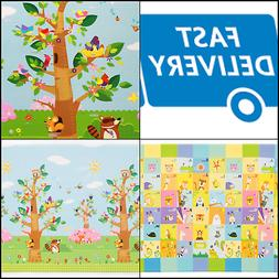 Baby Care Play Mat - Birds on the Trees  Large