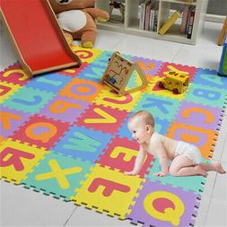 Play Mat Floor Puzzle Baby Foam Kids Soft Crawling Toddler A