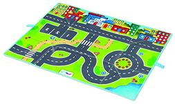 Viking Play Mat- Fun Road Design- 38.5 inches x 35 inches- F