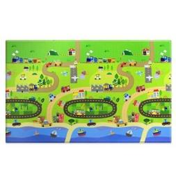 BABY CARE Large Baby Play Mat in Happy Village by Baby Care