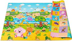 Baby Care Play Mat Large, Pingko Friends