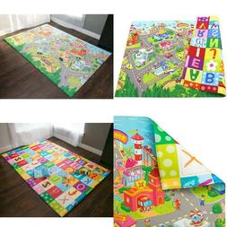 Play Mat Large Zoo Town Hygienic Safe Soft Floor Surface Bab