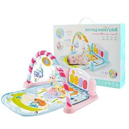 Baby Play Mat,3-in-1 Twist and Fold Activity Gym - Lay,Sit a