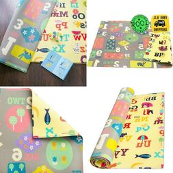 Baby Care Play Mat   Playful Collection  Large  Letters  Num