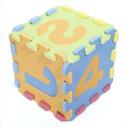 Play Mat Puzzle Toy Letters Numerals Educational Baby Crawli