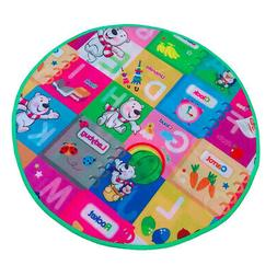 Play Mat Round for Tent Nursery Rug Large Kids Playmat Toys