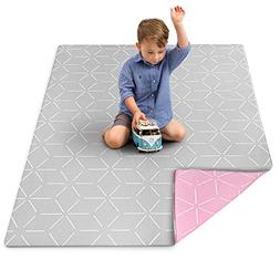 Baby Play Mat for Infants - Foam Padded Soft Ultra Cushioned