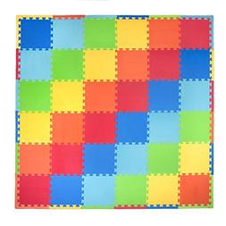Tadpoles 36 Piece Playmat Primary Set, Multi