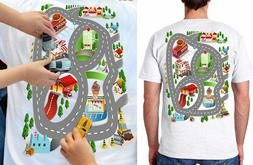 Playmat T-shirt Car Play mat Thomas the Train - Train - Fath