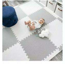 MyBlissBaby Playspot Foam Play Mat Tiles Square Check Baby G