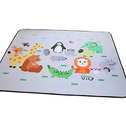Plush Foam Baby Play Mat - Crawling Mat for Toddler Children