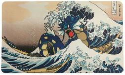 Card Game Playmat -  Gyarados Wave off Kanagawa Trading Card