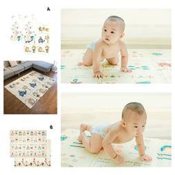 Portable Baby Play Mats Foldable 1cm Thickness Foam Pads For