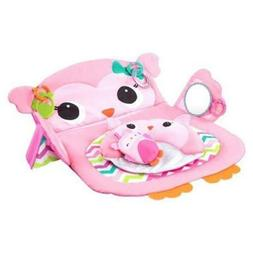 Bright Starts Prop & Play Tummy Time Mat - Owl