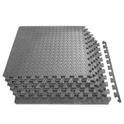 """Puzzle Mat 1/2"""" for Exercise, Extra Thick for Home and Gym E"""