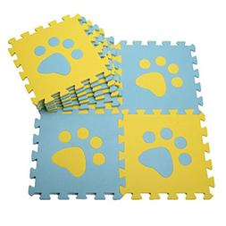 10 Pieces Of Puzzle/Waterproof Foam Mats Toddlers & Baby Foa