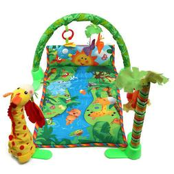 Rainforest Musical Play Soft Mat Activity Play Gym Baby Gift